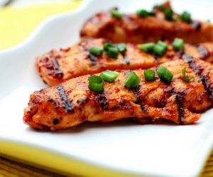 Grilled and baked chicken breast awesomeness